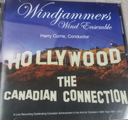 Windjammers CD cover: Hollywood - The Canadian Connection